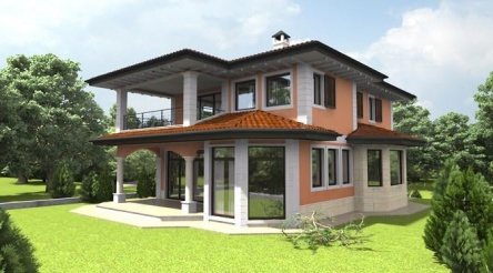 Neues Haus in der Nähe von Warna