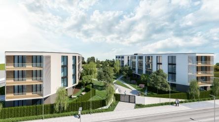 Apartment in neuer-modernen Wohnanlage in Burgas - Sarafowo