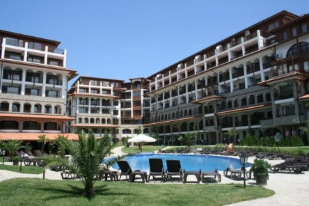 Komplexe Olimp Sveti Vlas - neue Apartments am Strand