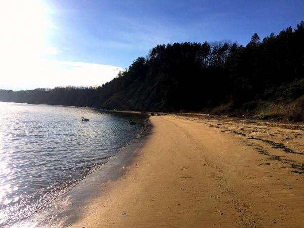 Grundstück direkt am Strand mit Investitionsprojekt für ein luxuriöses Feriendorf