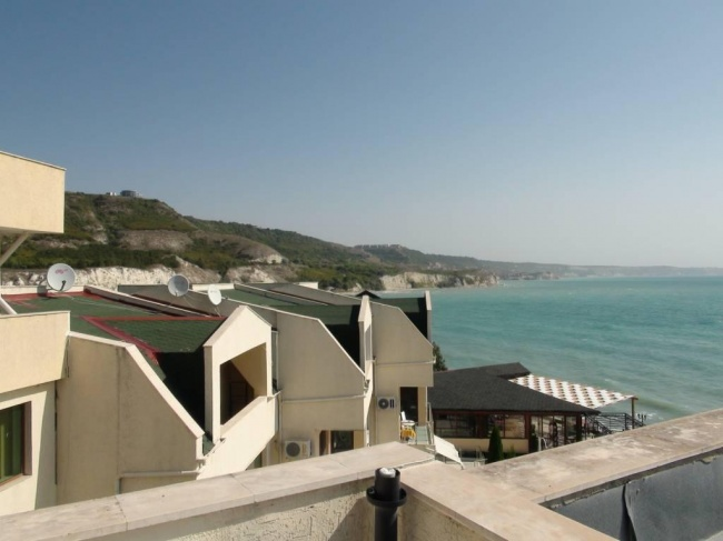 Penthouse mit direkter Strandlage in der Nähe von Baltschik