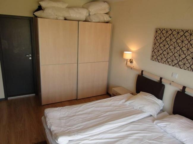 Apartment mit 2 Schlafzimmern in einer Wohnanlage am Strand