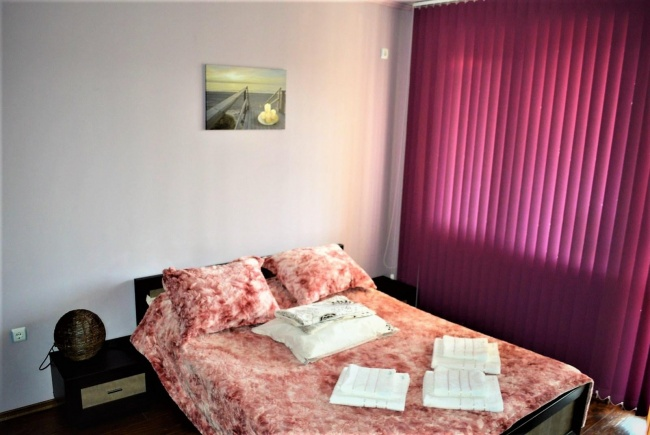 Zwei-Zimmer-Wohnung in der Nähe vom weltbekannten Golfplatz Thracian Cliffs