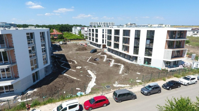 Apartment in neuer-modernen Wohnanlage in Burgas - Sarafowo