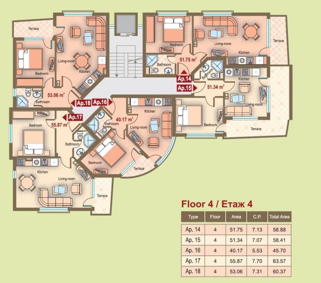 Апартаменти в Обзор