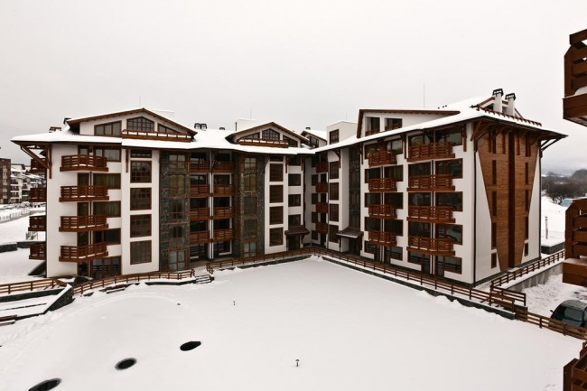 Neubauwohnungen zum Verkauf in den Bergen, Bansko