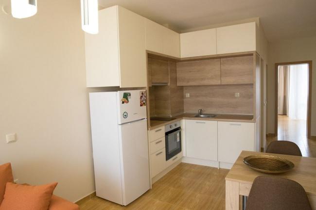 Möblierte 3-Zimmer-Wohnung neben dem Strand in Sweti Wlas
