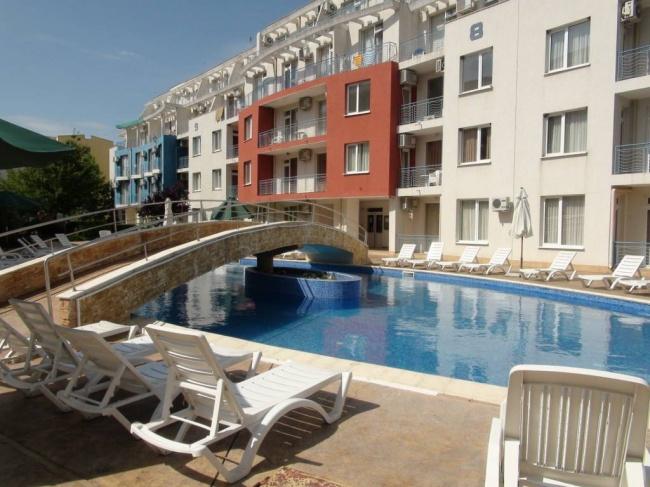 Günstige Wohnung mit zwei Schlafzimmern in Sunny Beach