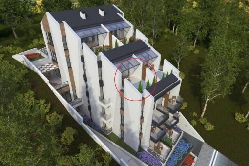 Просторен апартамент с отлична морска гледка до плаж в Созопол