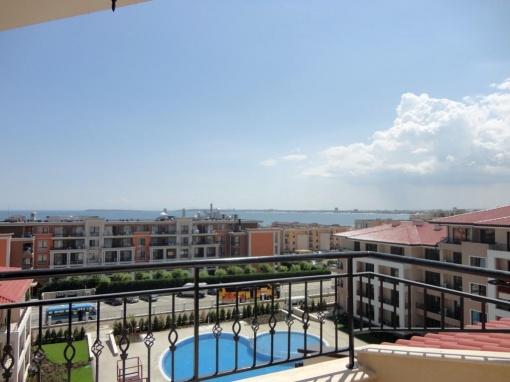3-Zimmern Apartment mit meerblick zum abzahlen über 4 jahre in Sweti Vlas