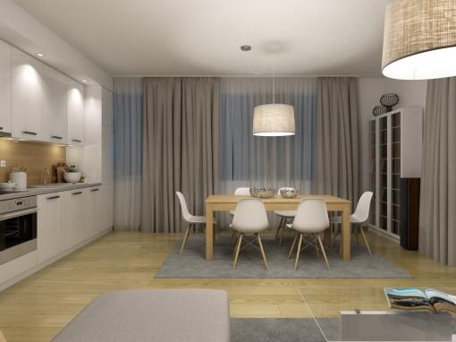 Апартамент с три спални в нова луксозна сграда в Сливен